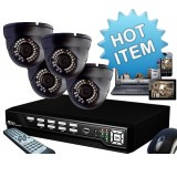 4 Channel CCTV Kits all in one..